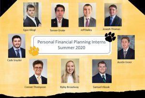 2020 PFP Interns