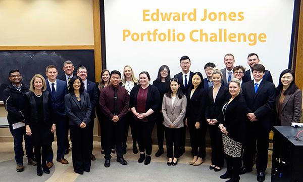Edward Jones Portfolio Competition Attendees