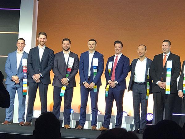 Jansen Joehl with other award winners
