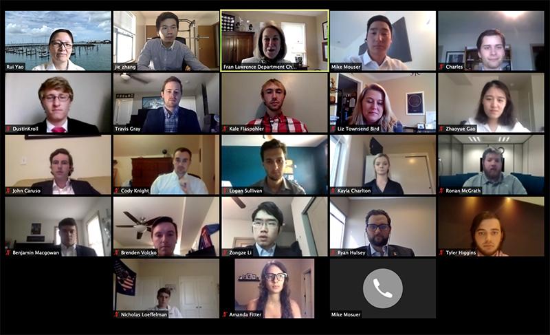 Zoom meeting attendees